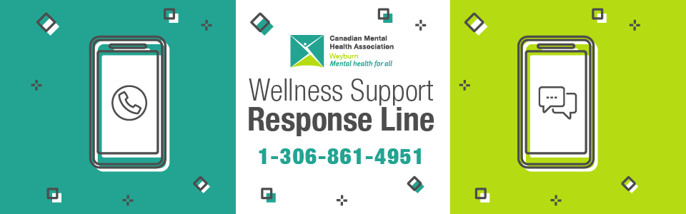 CMHA Wellness Support Response Line Available